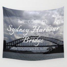 Sydney Harbour Bridge, Australia Wall Tapestry