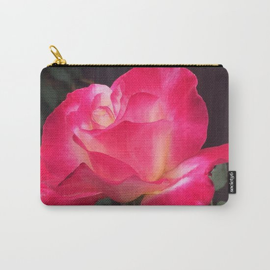 Grandma's Beautiful Rose Untouched Carry-All Pouch