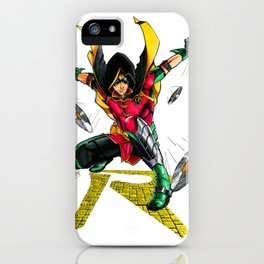 Damian Wayne : Robin Legacy iPhone Case