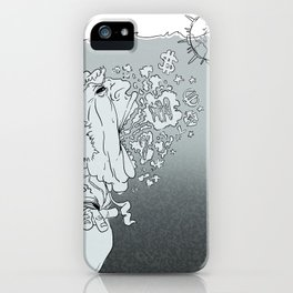 Sharks, not Wolves iPhone Case