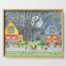 Trick or Treat Serving Tray
