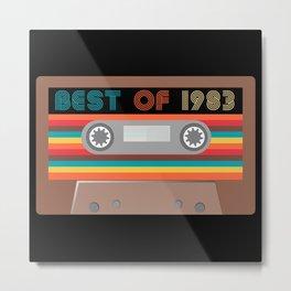 Best of  1983 Metal Print