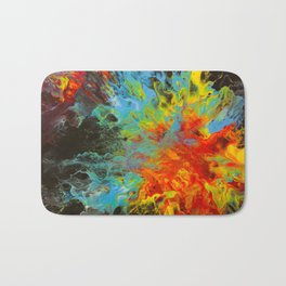 Number 010 - Fire and Ice Bath Mat