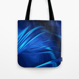 Dark Blue Abstraction Tote Bag