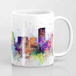 montreal skyline artistic Coffee Mug