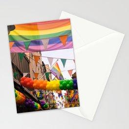 LGBT Pride Street Scene Stationery Cards