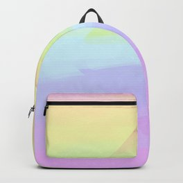Rainbow. Soft rainbow pearl prism. Backpack