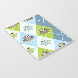 Argyle Owls Notebook