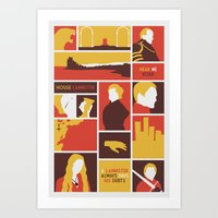 tyrion Art Prints featuring House Lannister by Jack Howse