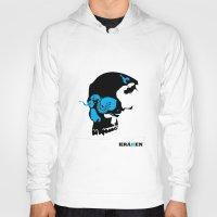 kraken Hoodies featuring Kraken by Madera Arts