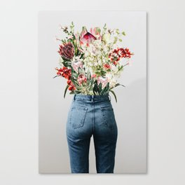 Bottomless Bouquet Canvas Print