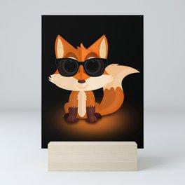 Cool Fox Mini Art Print