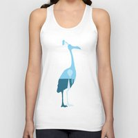kevin russ Tank Tops featuring Kevin! by JM Illustration