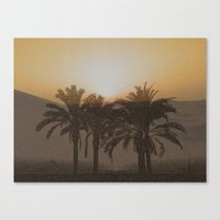 arabic Canvas Prints featuring Arabic by Louise Machado