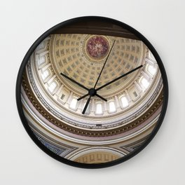 Wisconsin Capitol Building Rotunda 1 Wall Clock