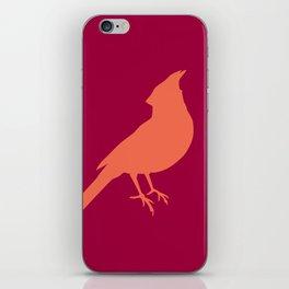 facing cardinals (color) iPhone Skin
