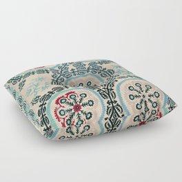 Ferghana Suzani  Northeast Uzbekistan Embroidery Print Floor Pillow
