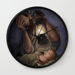 Our Coming Savior Wall Clock