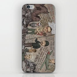 Where Is The Hope And Where Is The Faith And The Love iPhone Skin