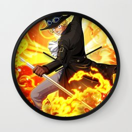 Sabo - One piece Wall Clock