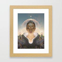 Telepathist Framed Art Print