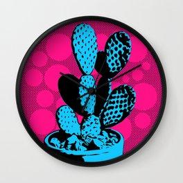 Cactus Art05_#2 Wall Clock