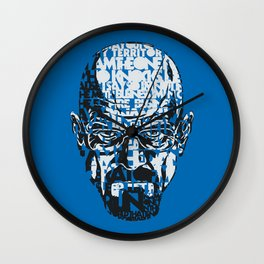 Heisenberg Quotes Wall Clock