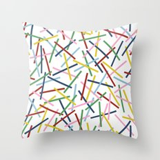 Kerplunk 15 Throw Pillow