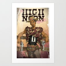 High Noon Hibachi Art Print