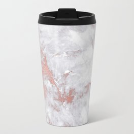 Marble Rose Gold - Lost Travel Mug