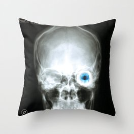 Rx_eye Throw Pillow