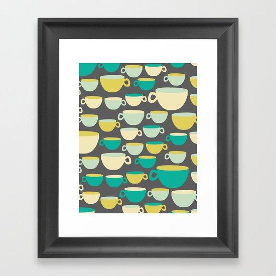 Coffee Mugs Framed Art Print