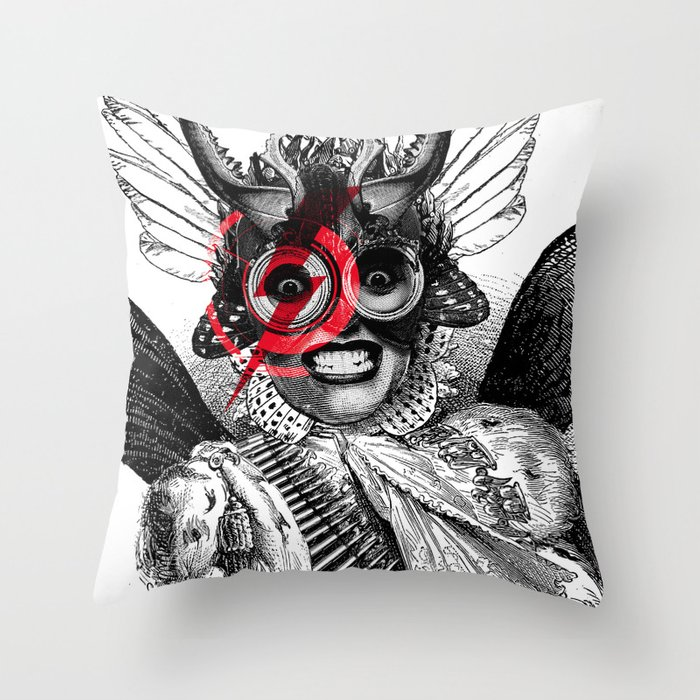 The Baroness Throw Pillow