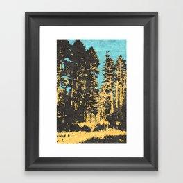 Field Recording of Cicadas Framed Art Print