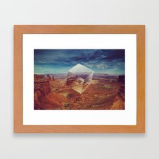 distilled intention Framed Art Print