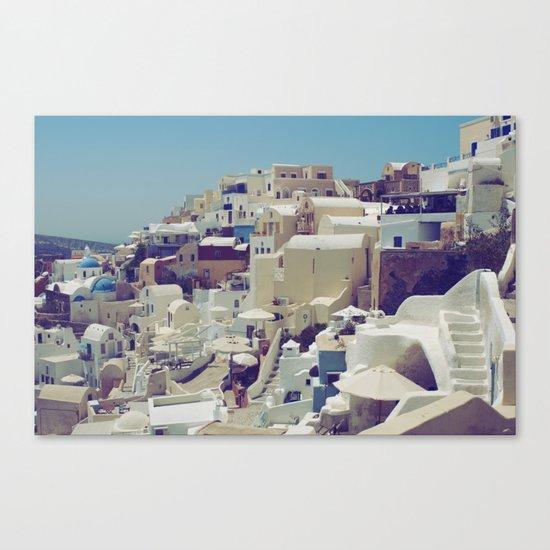 Oia, Santorini, Greece III Canvas Print