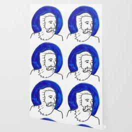 The Blue Man Wallpaper