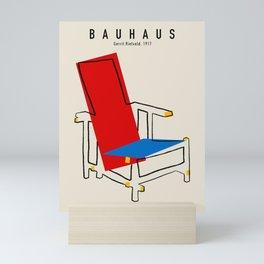 Vintage poster-Bauhaus 1917. Mini Art Print