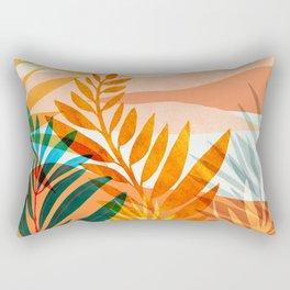 Summer Rainforest / Abstract Landscape Series Rectangular Pillow
