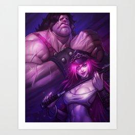 Final Fight Art Print