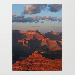 Grand Canyon Sunset Colors Poster