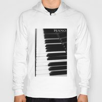 piano Hoodies featuring Piano by Falko Follert Art-FF77