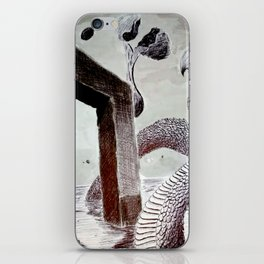 Incessant Monitor series 39.9153N116.4642E iPhone Skin