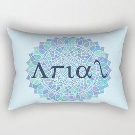 Arial Mandala #abstract #mandala #society6 Rectangular Pillow