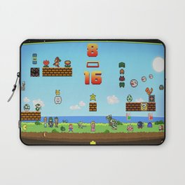 Retro games come together Laptop Sleeve
