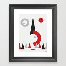 TURNING POINT Framed Art Print