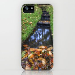 Autumn Waters iPhone Case