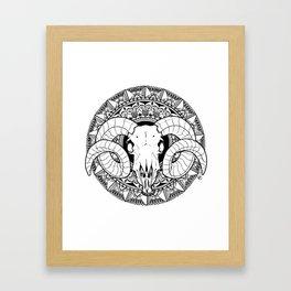 Staring at Goats Framed Art Print