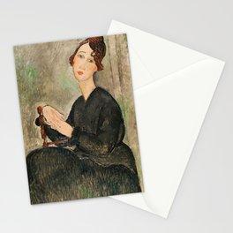 Amedeo Modigliani - Portrait Of Dedie Hayden Stationery Cards