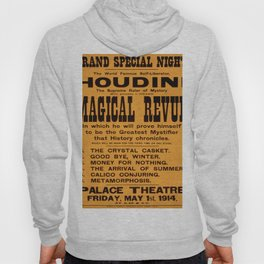 Vintage poster - Houdini Magical Revue Hoody